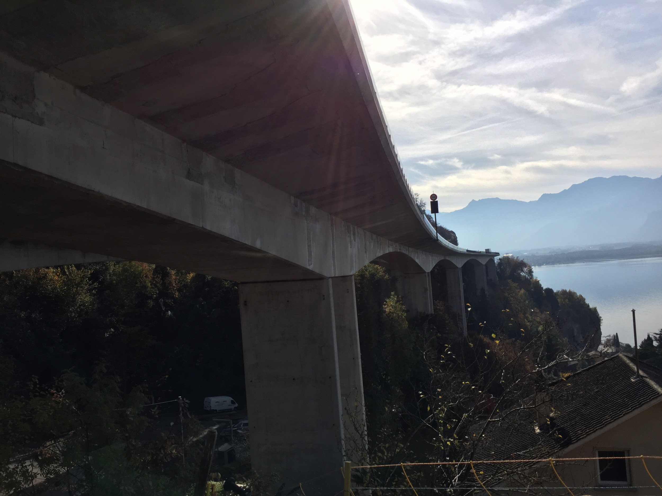 The Chillon Bridge was renovated with ultra-high-performance fibre reinforced concrete.