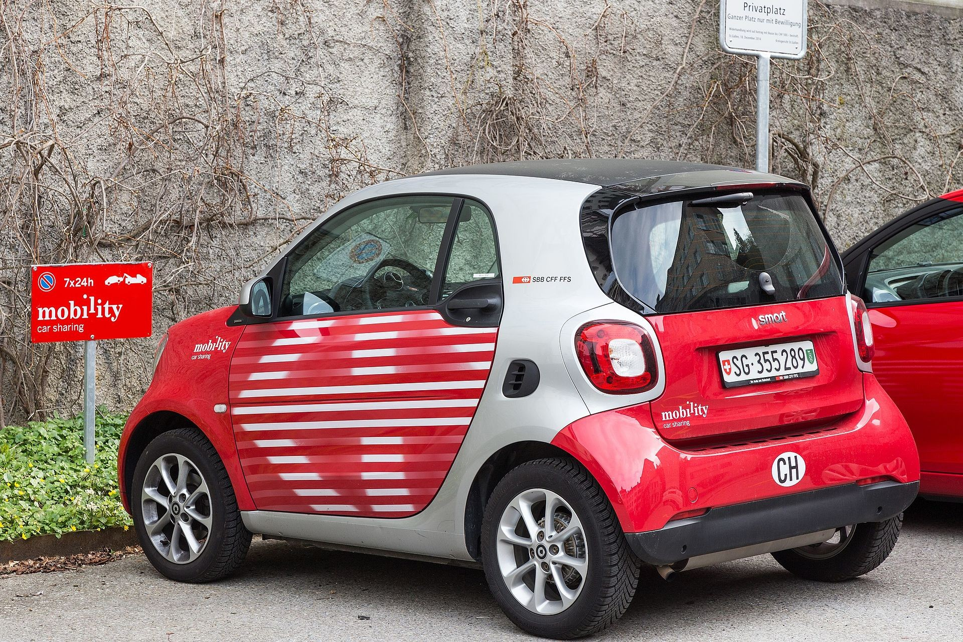 Does one really use less energy when sharing a car instead of owning one?