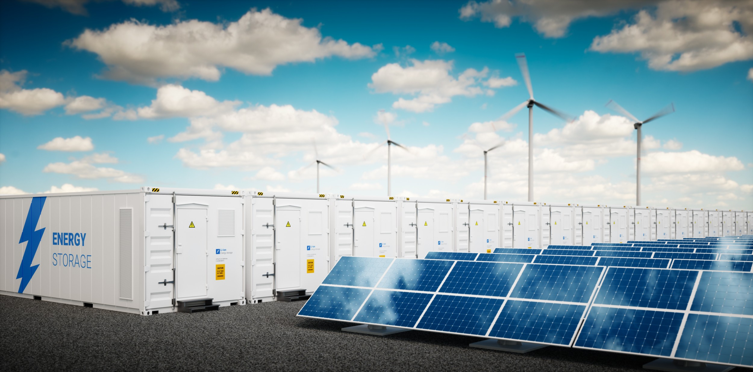 Locally generated solar or wind energy depends on local storage capacity in stationary batteries. Newly developed battery systems contribute to the optimisation of this storage.