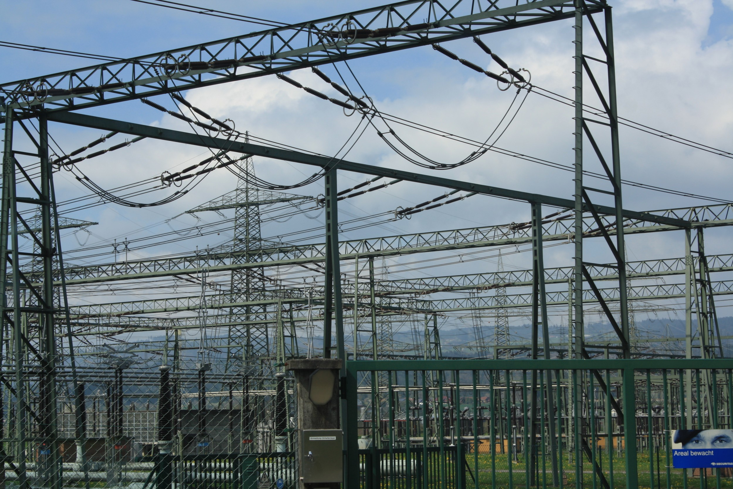 """The """"Star of Laufenburg"""", Swiss cradle of the European electricity grid."""